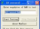MemTest Version(检测内存的稳定度/测试记忆的储存与检索资料的能力)V4.0绿色英文免费版