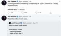 苹果iPhone 12发布会日期公布