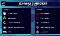 2020英雄联盟S10小组赛分组对战表一览