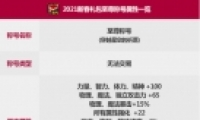 DNF2021春节套至尊称号属性一览