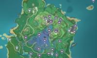 《原神》绯樱绣球位置坐标一览