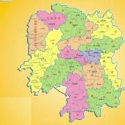 湖南省地图高清矢量版 V1.0 官方版