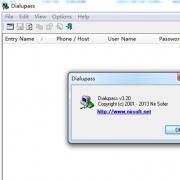 Dialupass(宽带账号密码查看器) V3.21 绿色版