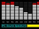 电脑实时声音频谱显示V1.3 简体中文绿色免费版