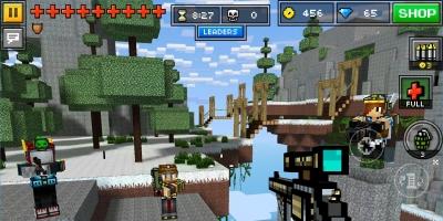 像素射击城市战争游戏是一款像素风格的射击游戏,玩家在游戏中需要控制自己像素方块人不停的战斗,利用各种武器消灭所有遇见的敌人,击杀不同的敌人有着不同的金钱奖励,用来购买更加强大的武器。