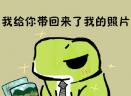 李泽言旅行青蛙表情包高清无水印版