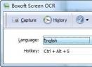 Boxoft Screen OCR(屏幕ocr软件)V1.5.0 官方版
