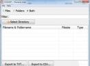Filename Lister(文件列表导出软件)V2.2 官方版