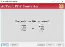 ACPsoft PDF Converter(万能PDF转换器)V2.0 绿色版