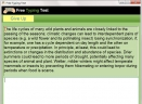Free Typing TestV1.0 官方版