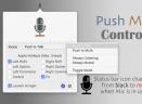 Push Mic ControlV1.3.2 Mac版