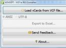 VCF to XLS Converter(VCF到XLS转换器)V1.0 免费版