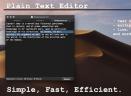 PlainTextEditV1.0 Mac版
