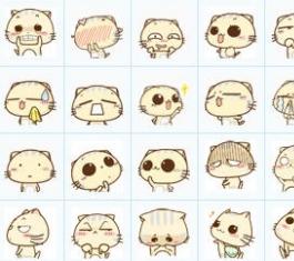 碎碎猫qq表情包图片