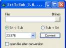 SrtToSubV3.0.6.31