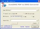 PDF转dwg工具正式版