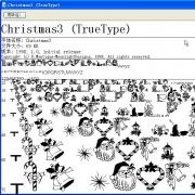 Christmas3字体