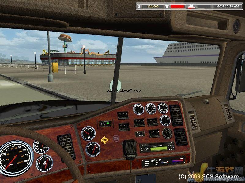 18轮大卡车2_18轮大卡车:穿越美国 英文版 图片预览