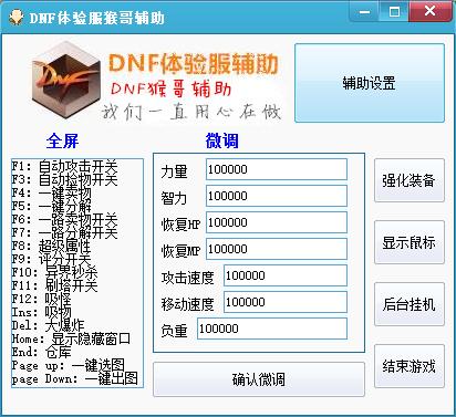 dnf体验服辅助_dnf体验服辅助外挂v1.2下载