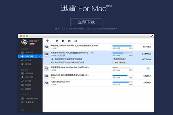 迅雷+mac