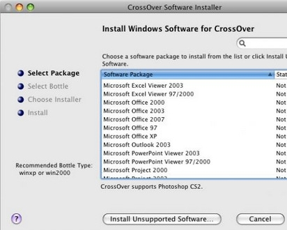 CrossOver苹果win虚拟机 V15.3.1 官方版