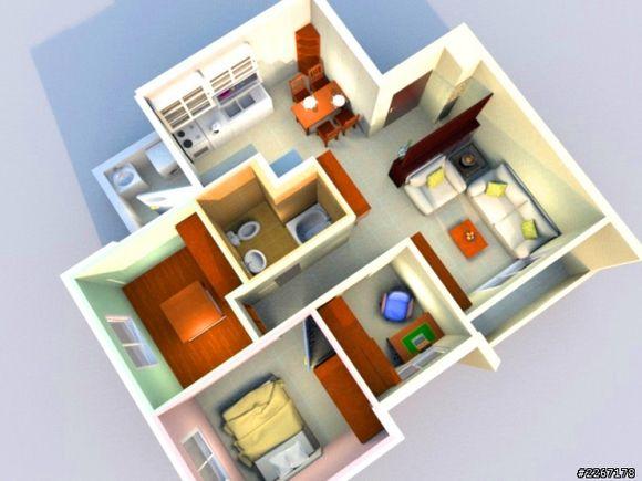 室内装潢设计软件(Sweet Home 3D) V5.6 官方版