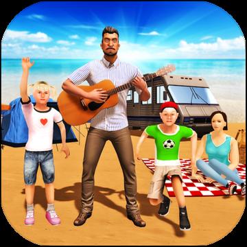 虚拟幸福的家庭度假野营V1.0 中文版