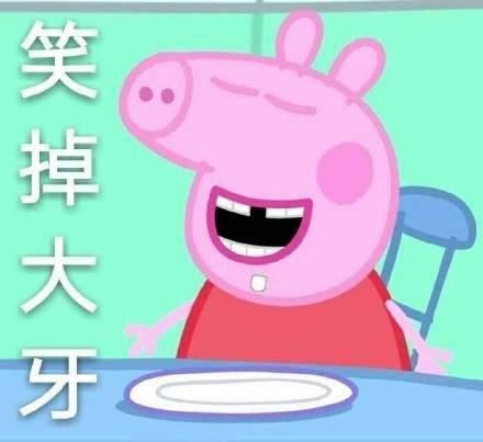 小猪佩奇不差钱表情包电脑版图片
