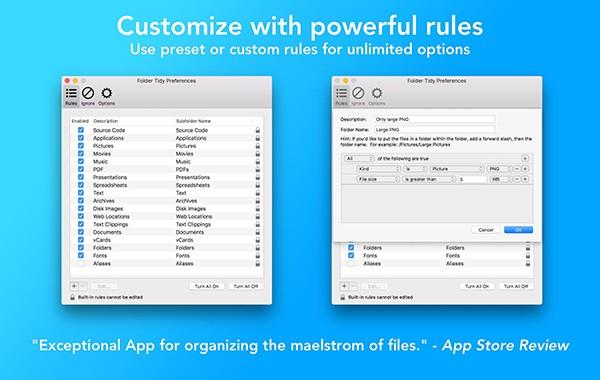 Folder Tidy Mac版