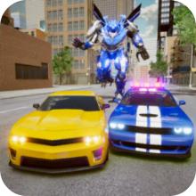 警车追逐机器人大战 V1.0 苹果版