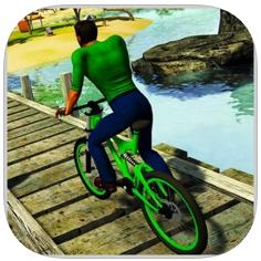 自行车特技极限海滩 V1.0 苹果版