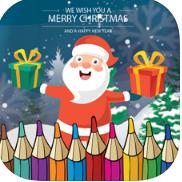 圣诞老人涂色书 V1.0 ios版