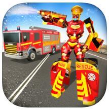 机器人消防车司机2020 V1.0 苹果版