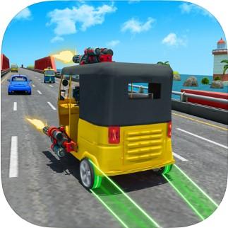 高速公路黄包车射击苹果版