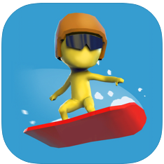 滑雪板比赛3D V2.0 苹果版