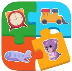 婴儿幼儿园益智宝宝动物拼图 V1.0 苹果版