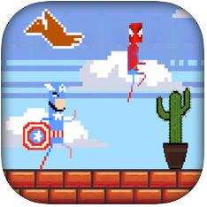 超级勇士们的跑酷 V1.0 苹果版