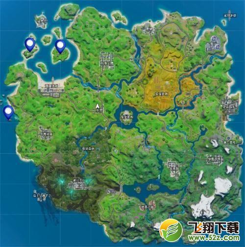 《堡垒之夜》珊瑚湾堆栈窝棚坠毁地点位置分享