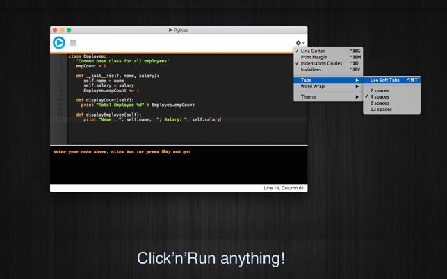 Run Python V1.0 Mac版