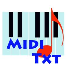 MidiTxT V3.1.11 Mac版