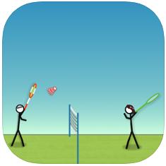 火柴人打羽毛球 V1.0 苹果版