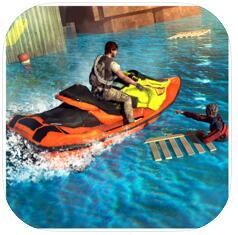 摩托艇救援3D V1.0 �O果版