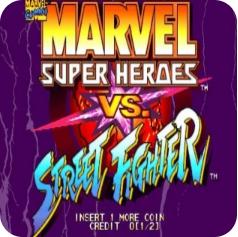 超级漫画英雄对街头霸王 手机版