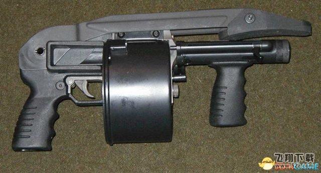 GTA5散弹枪篇-Sweeper Shotgun 冲锋霰弹枪图鉴/原型一览
