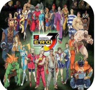 GBA街霸ZERO3日版手机版下载-GBA街霸ZERO3日版最新免费版下载