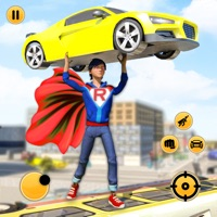 飞行超人机器人火柴人绳索英雄 v1.0 苹果版