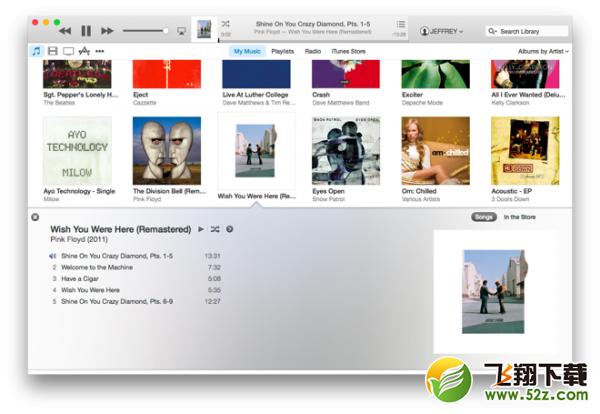iTunes 12发布介绍及下载地址_52z.com