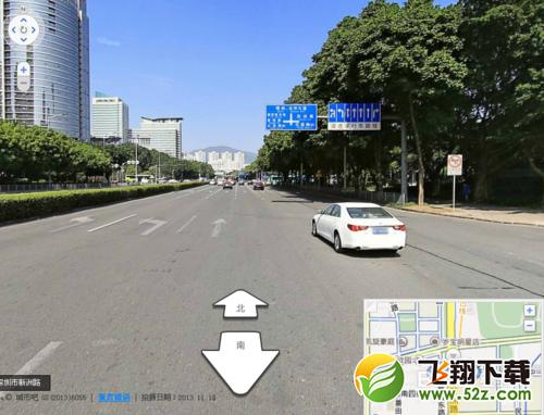 百度地图怎么看街景