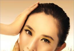 打造Photoshop华丽的金色彩妆人像