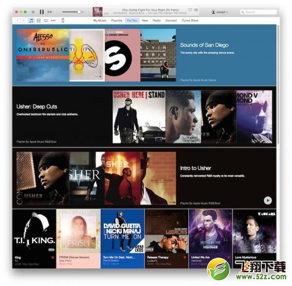 iTunes 12新功能介绍_52z.com